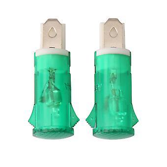 2 pièces Funiture Home Indicator Light Pour la partie de remplacement du réfrigérateur