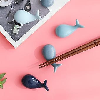 Lucky Whale Ceramic Chopsticks Holder Chopsticks Stil chinezesc Home Hotel