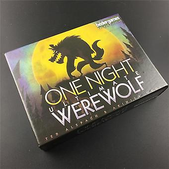 Night Ultimate Werewolf Board Games Werewolves For Home Party Game (1 Set)