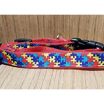 Collar/ Large/ Medium/ Autism Puzzle Pieces