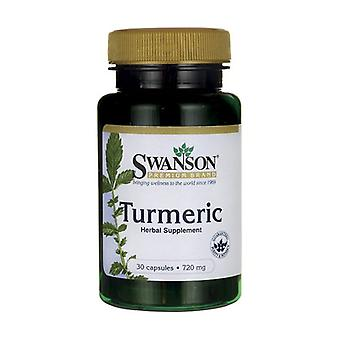 Turmeric, 720mg 30 capsules