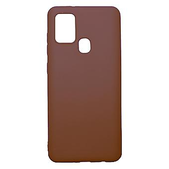 Ultra-Slim Case compatible with Samsung Galaxy A21s | In Brown