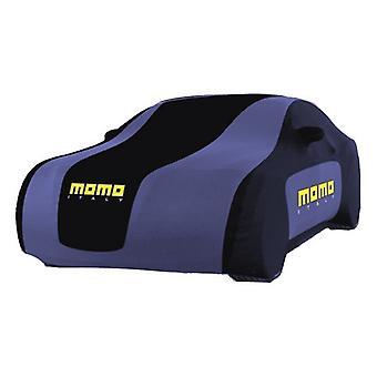 Bilskydd Momo 002 Svart Blå/M
