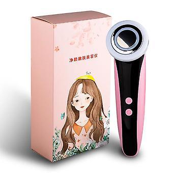 Gezichtsradiofrequentie schoonheidsinstrument gezichtsmassager oogverzorgingstool huidverjonging hete kompres remover rimpel
