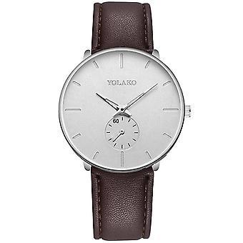 Casual Uhren, Business Clock, männliche Edelstahl Mesh Gürtel, einfache Quarz