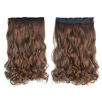 Thick Hair Extension Long Curled Hair 5 Cards Wig