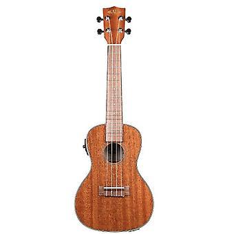 Kala ka-cge gloss mahogany concert ukulele with electronics natural