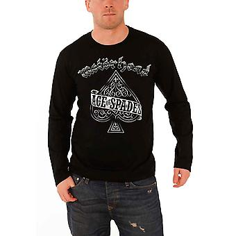 Motorhead T Shirt Mens Black Ace of Spades band logo new Official long sleeve