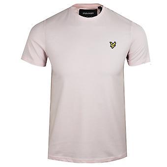 Lyle & scott men's stonewash pink t-shirt