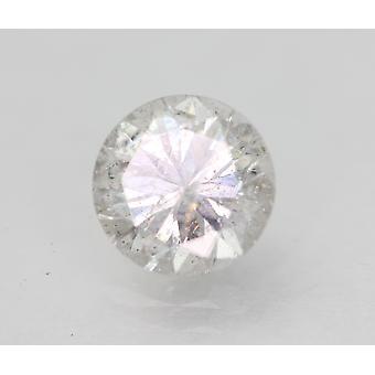Sertifioitu 1,54 karat D SI3 pyöreä brilliant parannettu luonnollinen löysä timantti 7,34mm