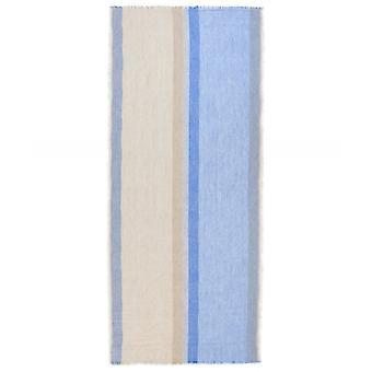 Oska Stripe Linen Blend Scarf