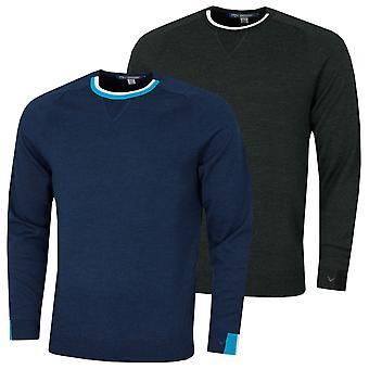 Callaway Golf Mens 2021 Merino Crew Neck Moisture Wicking Stretch Sweater