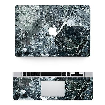 Texture Laptop Body Decal Protective Skin Vinyl Gray Sticker