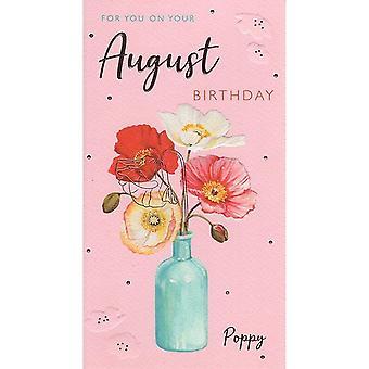 ICG Ltd August Birthday Card