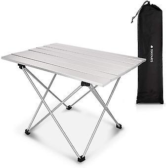 Navaris Campingtisch Camping Klapptisch Ultraleicht - 55,7x40,5x38,5cm Alu Tisch Balkon klappbar -
