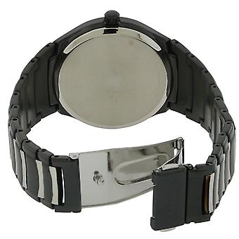 Citizen Eco-Drive Paradigm Black Stainless Steel Mens Watch AW1558-58E