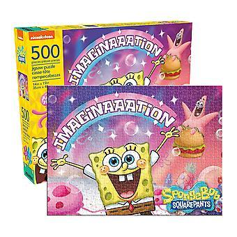 Spongebob - Phantasie 500pc Puzzle