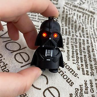 Star Wars Keychain, Light Black, Pendant Led For Man, Party, Anime Key Chain