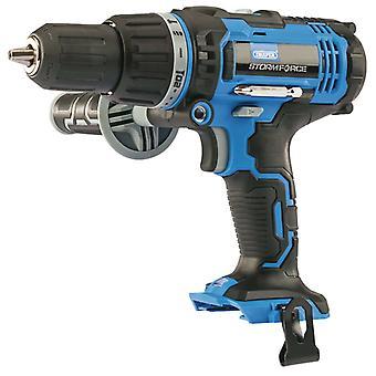 Draper Tools Battery Combination Drill Storm Force Bare 20V 50Nm