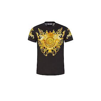 Versace Jeans Couture Cotton Black T-shirt