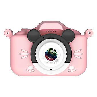 Sarjakuva digitaalikamera, Usb-latausurheilu, kaksoislinssi suojakotelolla, hd