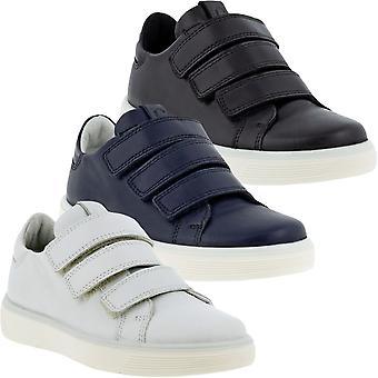 ECCO Unisex Kids Street Bakke K Casual Hook & Loop Trænere Sneakers Sko