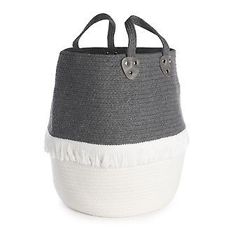 Large Cotton Rope Storage Basket   M&W