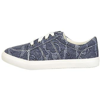 Kids The Children's Place Girls THE CHILDRENS PLACE Canvas Low Top Lace Up Fashion Sneaker