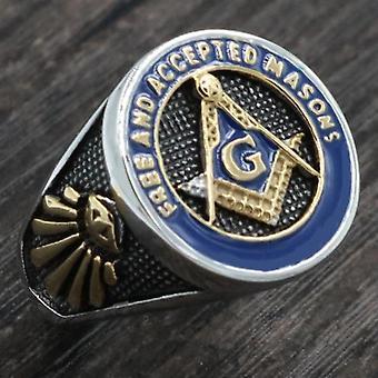 Freie und akzeptierte Maurer Freimaurer Ring