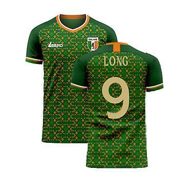 Ireland 2020-2021 Home Concept Football Kit (Libero) (LONG 9)