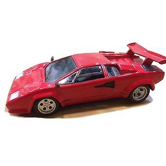 Coche fundido a troquel modelo Lamborghini Countach