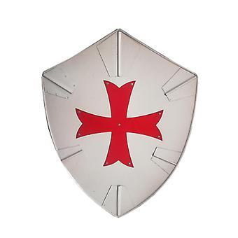 Metall Kreuzfahrer mittelalterlichen Wikinger Schild SWE67