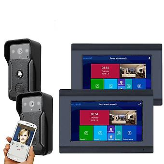 Wireless/wifi Smart Ip Video Door Phone Doorbell Intercom System