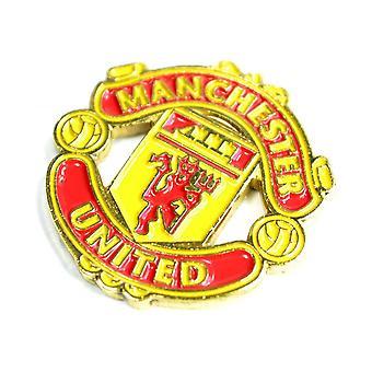 Man UTD Crest Pin Badge
