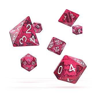 Oakie Doakie Würfel RPG Set (Speckled Pink)