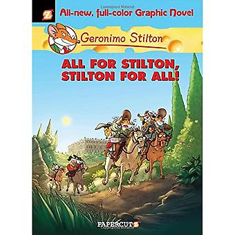 Geronimo Stilton 15 All for Stilton and Stilton for All