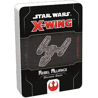 Star Wars X-Wing: Druhé vydanie poškodenia aliancie Rebel Alliance