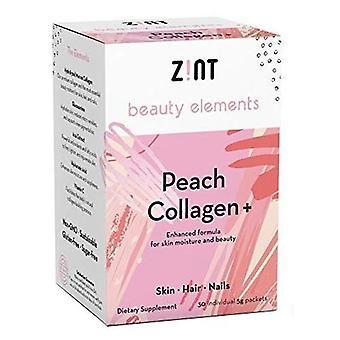 Zint Peach + Collagen Powder, 30 Count