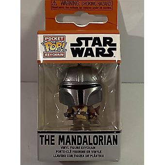 Mandalorian Star Wars Pocket Pop Avainnippu Funko 53045