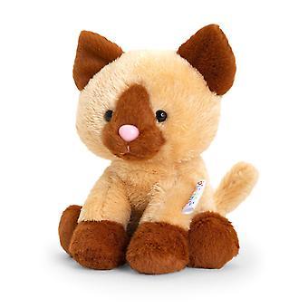 Keel Pippins Siamese Katt Mjuk Leksak 14cm