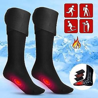 Sokker elektrisk opladning batteri opvarmet bomuld sokker