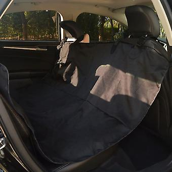 vidaXL الحيوانات الأليفة غطاء المقعد الخلفي 148 × 142 سم أسود