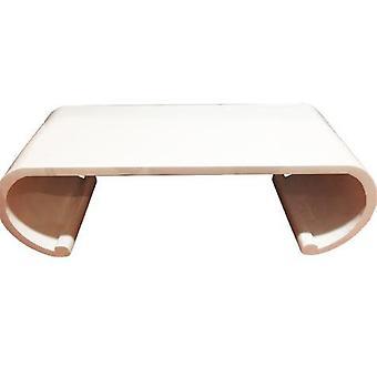 Fine asiaticaliving cinese scroll tavolo in legno massello bianco