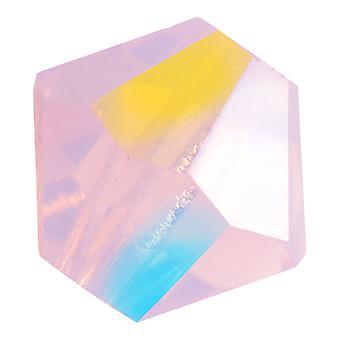 Preciosa Cristal tchèque, Perle Bicone 4mm, 36 Pièces, Rose Opale AB