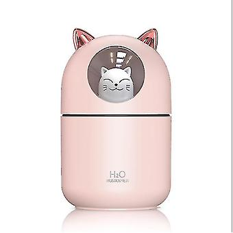 Mengmo Humidifier Mini Facial Sprayer Household Mute Usb Charging.(Pink)