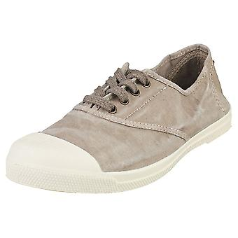 Natural World Old Lavanda Womens Casual Shoes in Grey