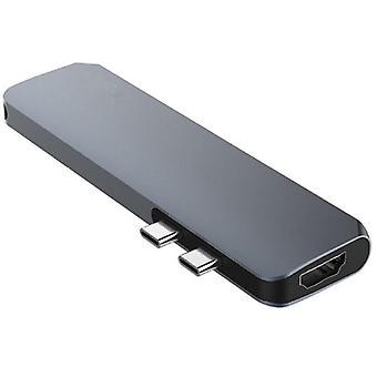 Keskitin Dual USB Type C Multiport Card Reader 4K HDMI For Mac MacBook Pro