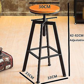 Swivel Bar Stool Cafe Chair