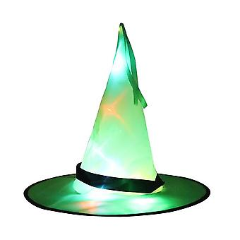 Halloween Led Witch Hats Hanging Lighted Glowing Witch Hats