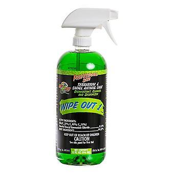 Zoo Med Wipe Out 1 - Kis állat és hüllő terrárium tisztító - 32 oz